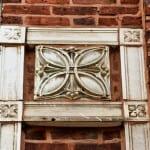 """important """"sullivanesque"""" ornamental terra cotta salvaged from a chicago garage undergoing demolition"""