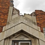 demolition of the former art deco style salerno cookie factory nearly completed