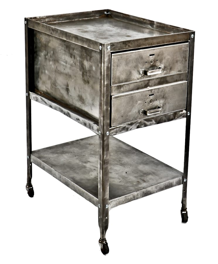 Simmons Metal Furniture Barley Twist Fretwork Industrial Carts Pre Fire Doors And Stained
