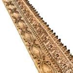 latest bldg. 51 museum acquisition: ornamental cast iron gage building facade stringer fragment