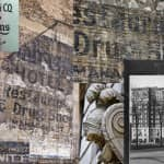 """1920's ambassador hotel """"ghost sign"""" emerges as the dust clears from the demolished building that concealed it"""