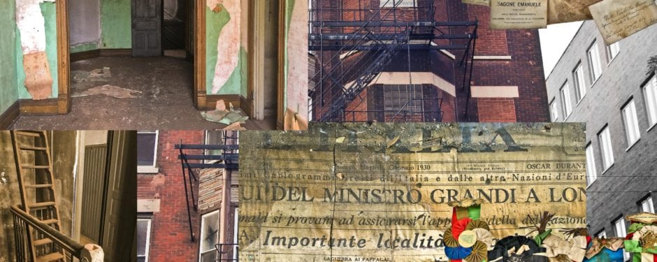 demolition of late 19th century building once housing chicago's oldest italian food importer weeks away