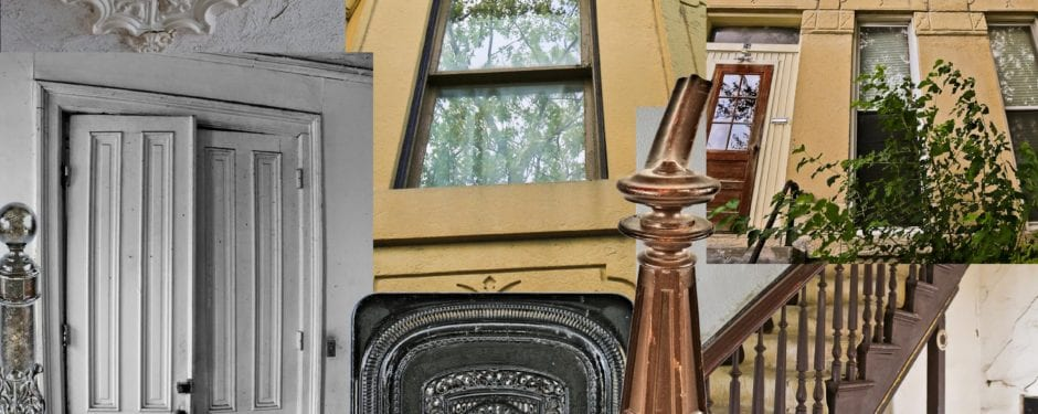 "demolition imminent for historic post-fire 1874 row house faced with ""athens marble"""
