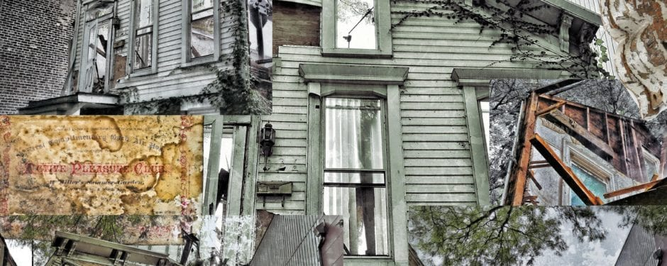 the death of a wood-framed post chicago fire cottage through sequential pictures