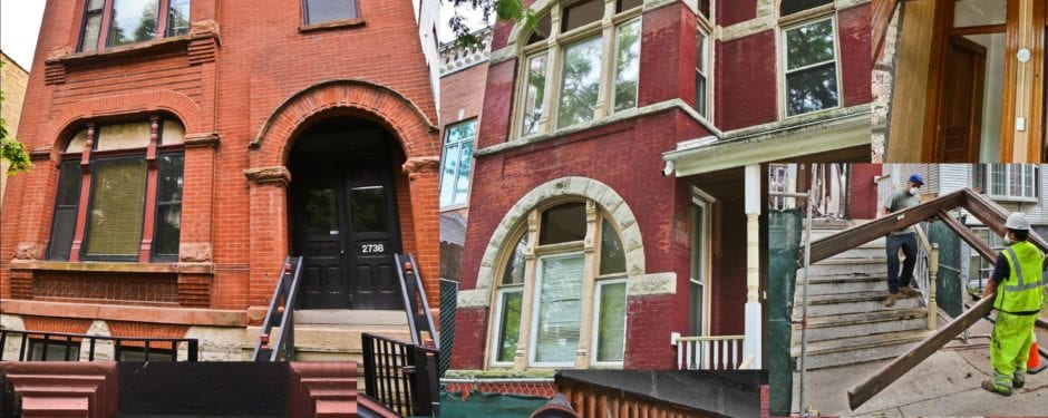 back-to-back destruction of two exceptionally intact victorian-era chicago houses