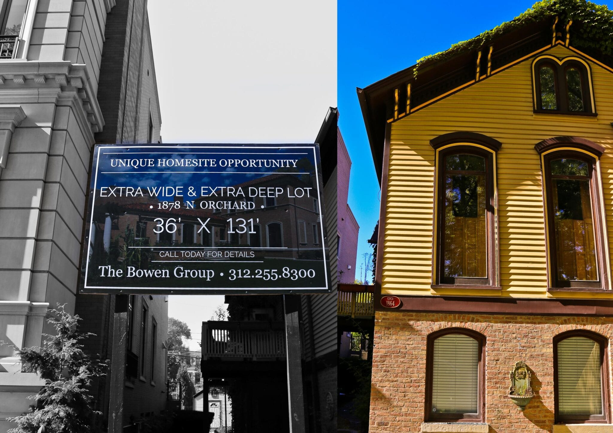 a pre-fire chicago wood frame cottage threatened by sale offering a ...