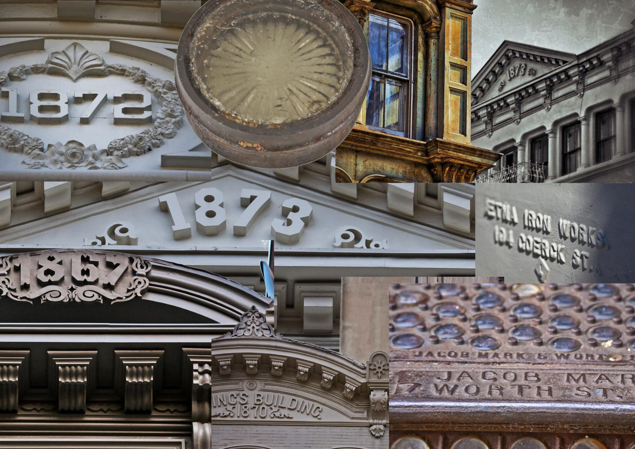 an intimate look at new york soho s cast iron facade ornament