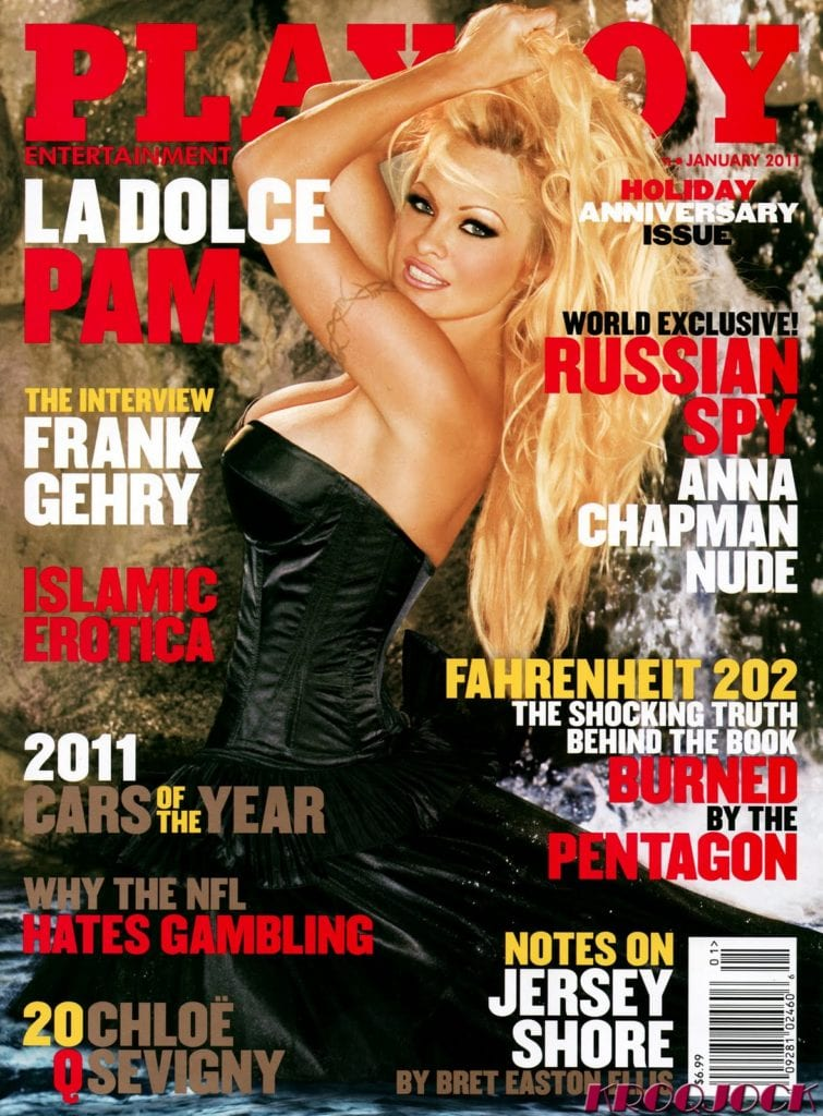 Featured in Playboy 2011