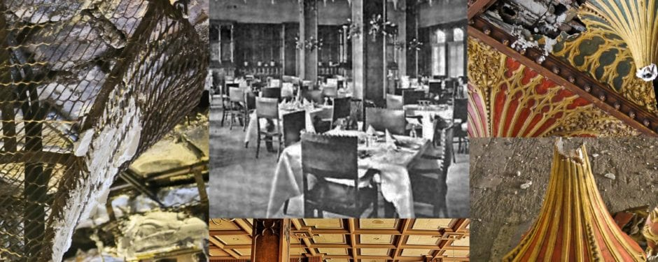 the death and regeneration of the chicago athletic association building's stalactite ceiling