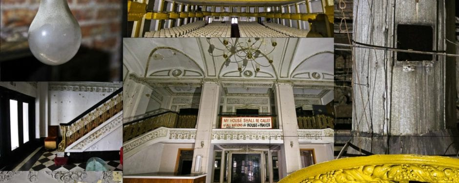a rare glimpse inside rapp and rapp's central park theater, chicago's oldest extant movie palace