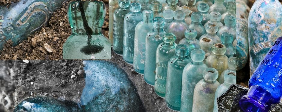 unearthing 19th and 20th century bottles frozen in time: a photo assay by eric j. nordstrom