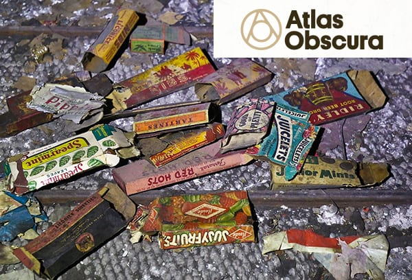 Atlas Obscura: Candy Wrappers Dating Back to the Depression