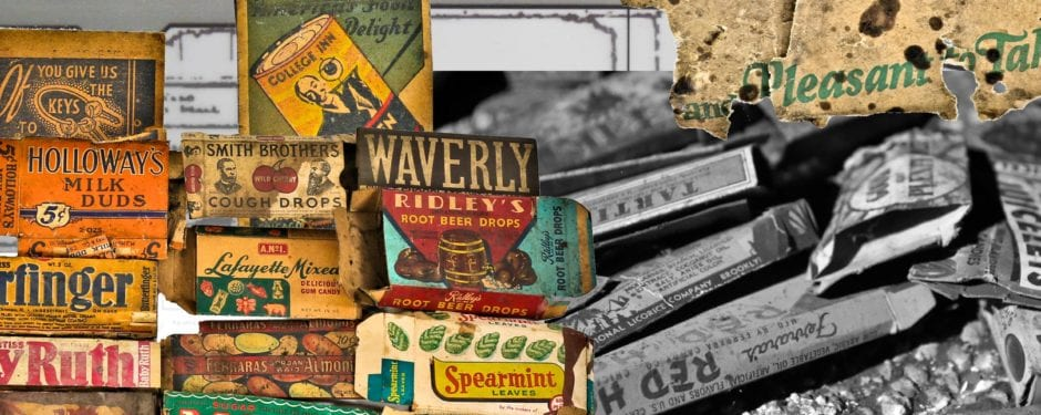 depression-era candy boxes discovered beneath congress theater's balcony seats