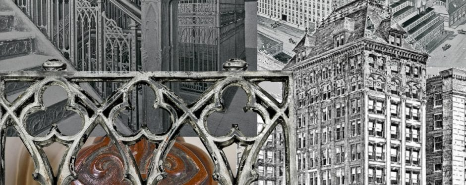 isabella building elevator fragment sheds light on early use of cast aluminum as ornament