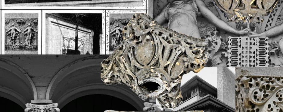 bldg. 51 museum acquires heller house cast plaster capitals executed by richard bock