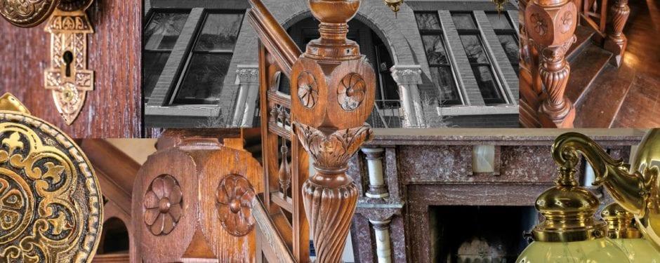 1880's bissel street mansion interior salvage gets underway