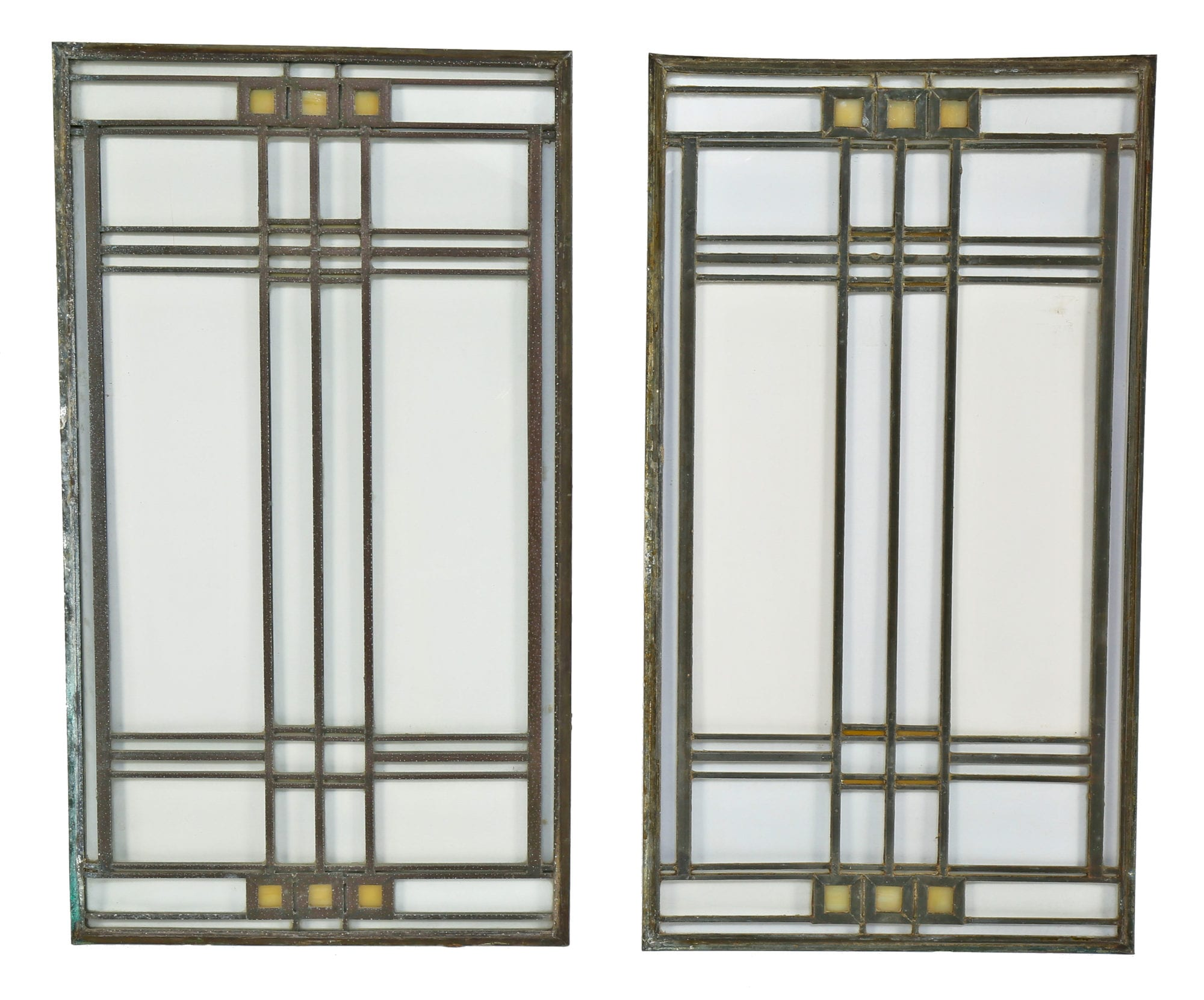 frank lloyd wright designed avery coonley residential art glass windows added to bldg 51 museum. Black Bedroom Furniture Sets. Home Design Ideas