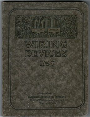 Outstanding Completly Intact Early 20Th Century Bryant Electric Company Pocket Size Wiring Database Ittabxeroyuccorg