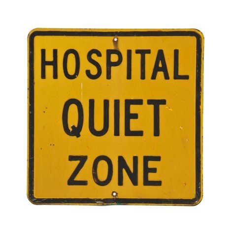 Image result for hospital quiet zone signs