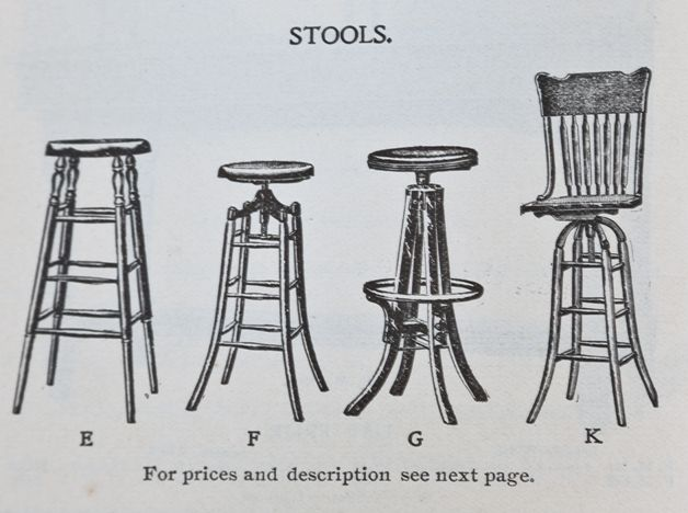 Magnificent Adjustable Height Turn Of The Century American Antique Industrial Four Legged Oak Wood And Iron Draftsman Stool With Revolving Seat Caraccident5 Cool Chair Designs And Ideas Caraccident5Info