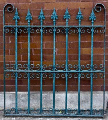 5 8 Cast Iron Spear Finial Spire Ornamental Fence Topper Wrought Iron Ebay