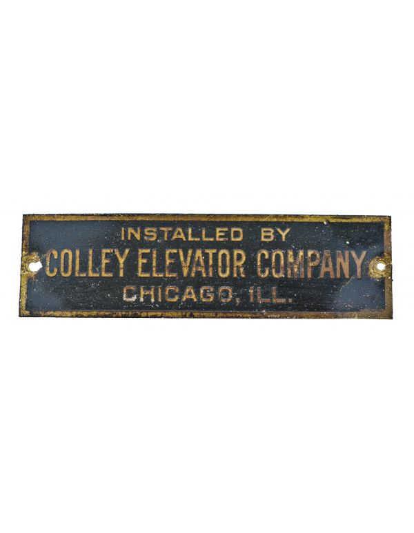 Vintage Elevator Components - Devices & Components - Artifacts