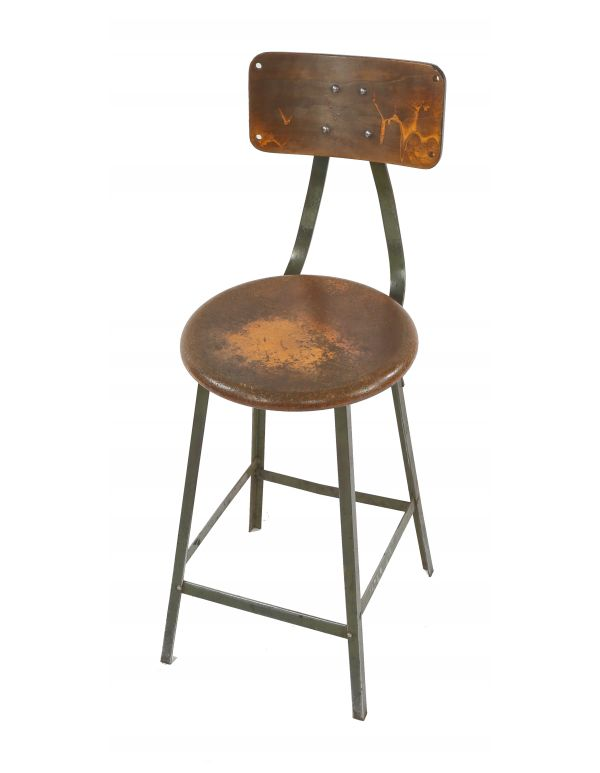 Enjoyable Vintage Industrial Stools Furniture Products Machost Co Dining Chair Design Ideas Machostcouk