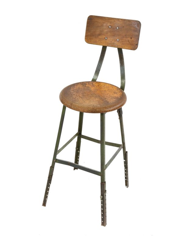 Terrific Vintage Industrial Stools Furniture Products Ocoug Best Dining Table And Chair Ideas Images Ocougorg