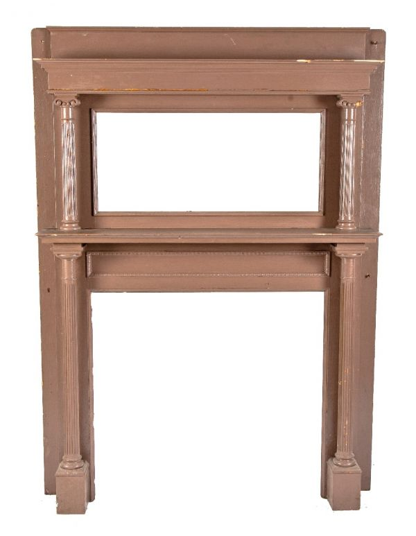 Phenomenal Antique Fireplace Mantels Inserts Architectural Products Interior Design Ideas Gentotryabchikinfo