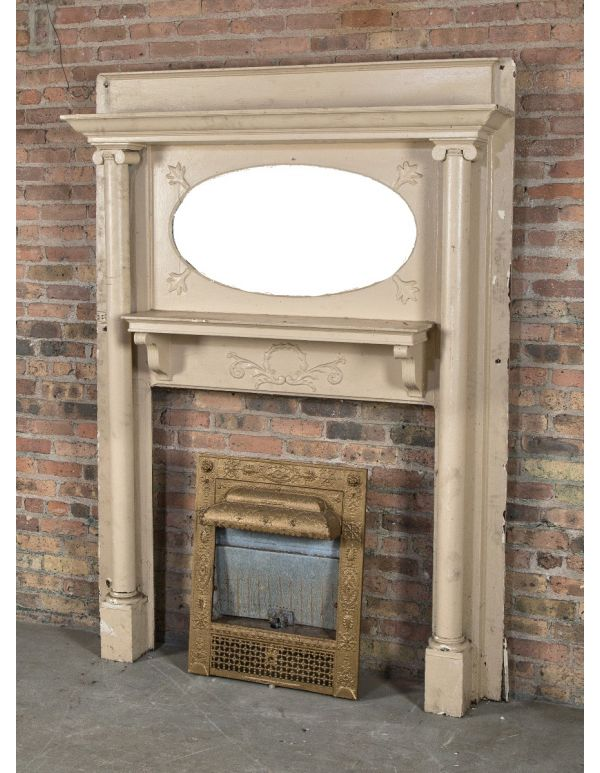 Strange Antique Fireplace Mantels Inserts Architectural Products Interior Design Ideas Gentotryabchikinfo