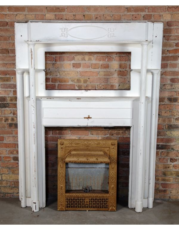 fireplace mantel mirrors pictures