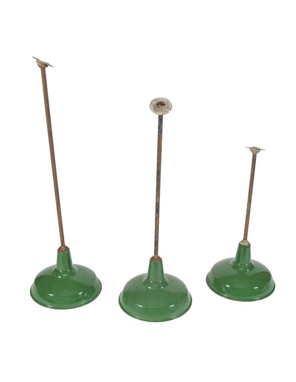 Green Porcelain Enameled Light Fixtures Lighting Products