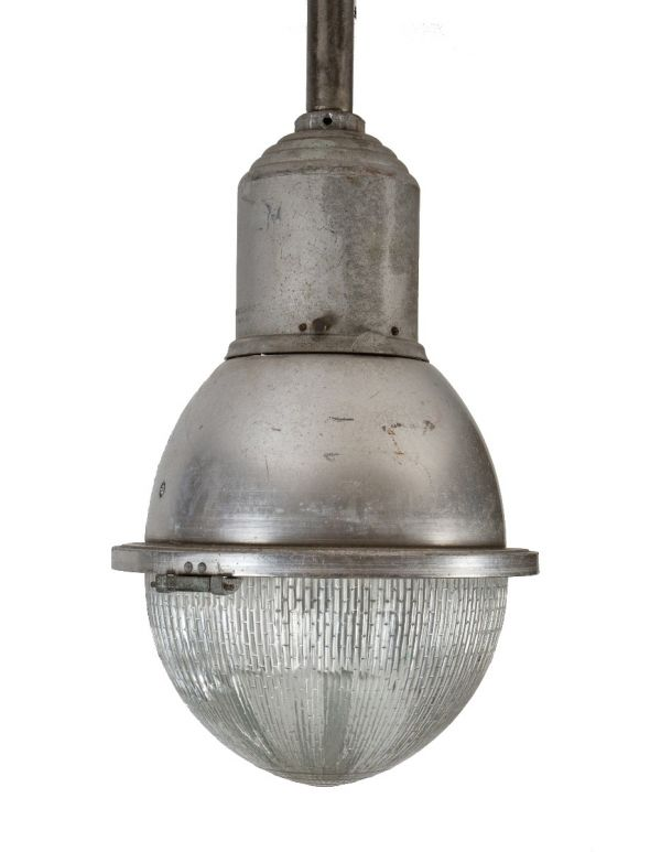 Industrial Swivel Sconce Machine Age Lamp with Opal Glass Shade