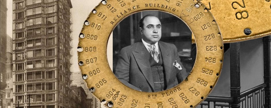 the death of al capone's dentist and a reliance building engineer's key ring