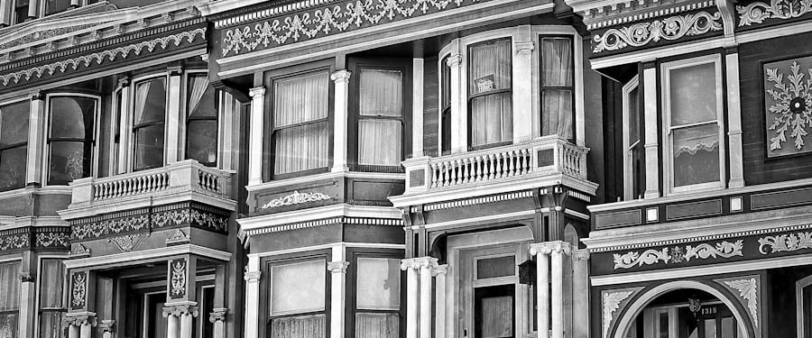 """photodocumenting """"painted ladies"""" in san francisco  - a feat that proved challenging"""