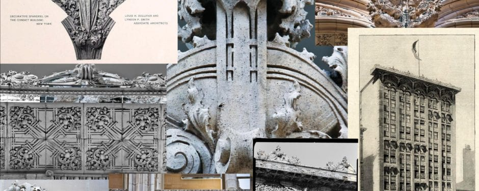 photo-documenting louis h. sullivan's bayard-condict building terra cotta facade