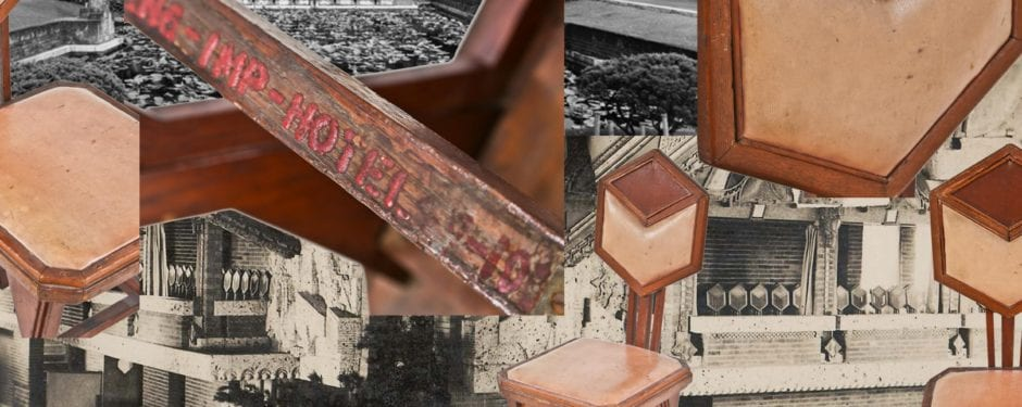 """a closer look at frank lloyd wright's imperial hotel """"peacock chair."""""""