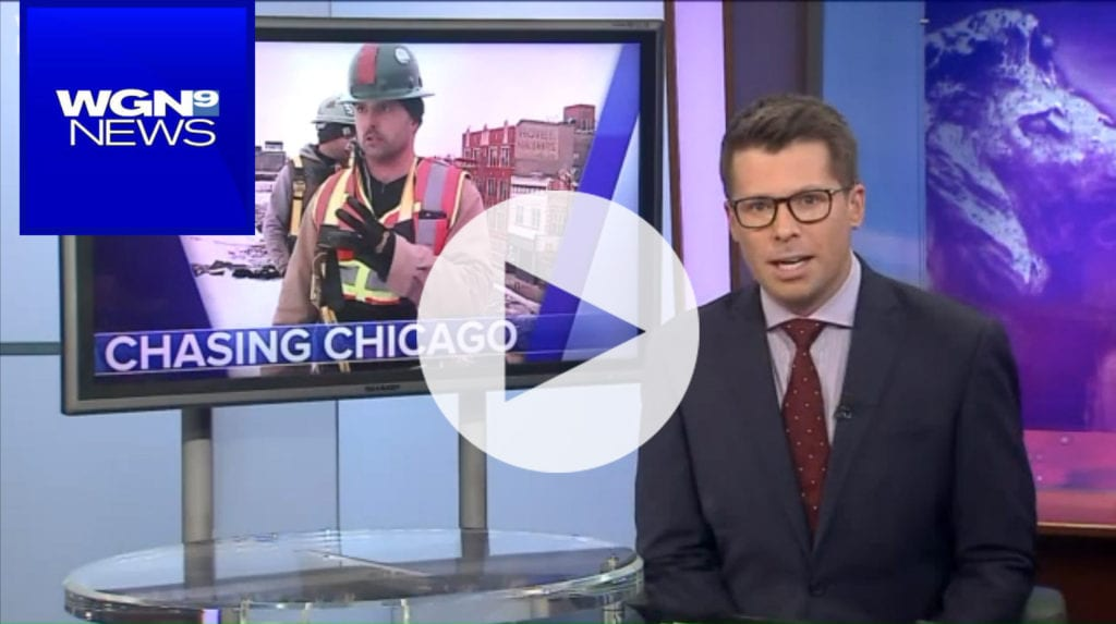 WGNtv: urban archaeologist rescues chicago history from the wrecking ball