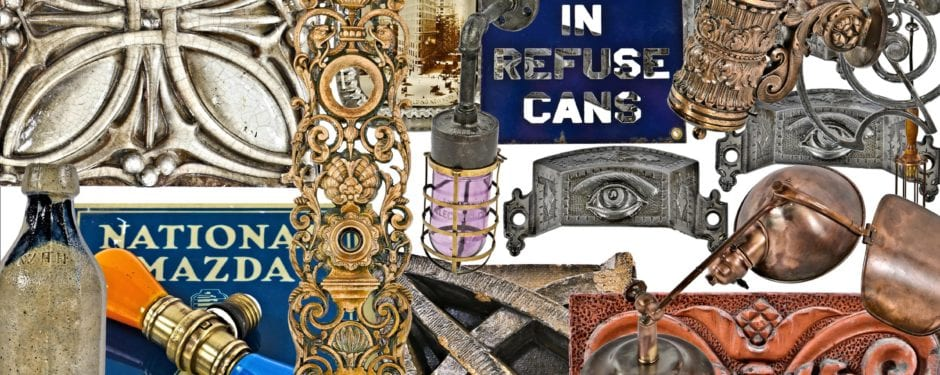 several objects and artifacts added to urban remains online catalog