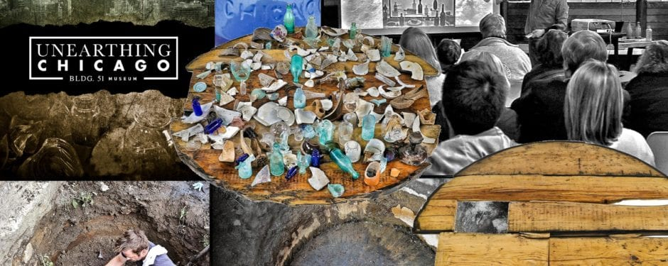a photographic study of 1850's soda and/or mineral water bottles unearthed in chicago between 2014-2017