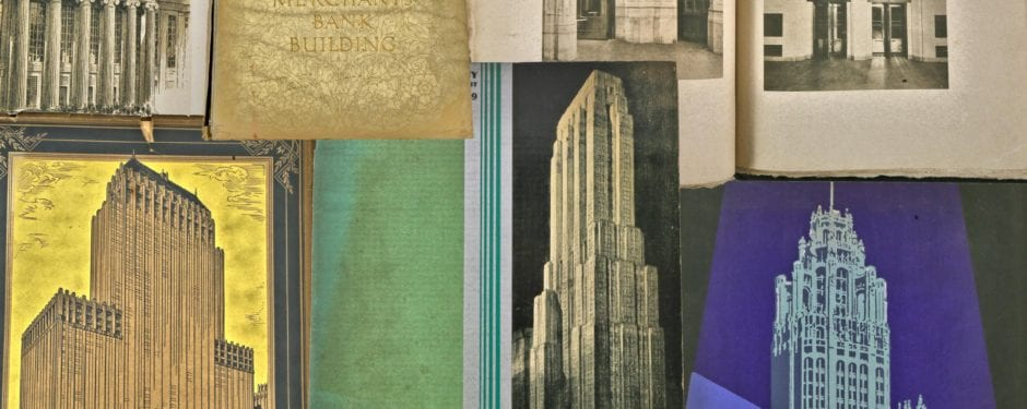 bldg. 51 museum archive secures several historically important chicago building informational booklets and brochures