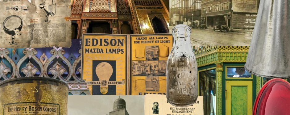 what tradesmen left behind in the attic of john eberson's 1927 persian atmospheric regal theater