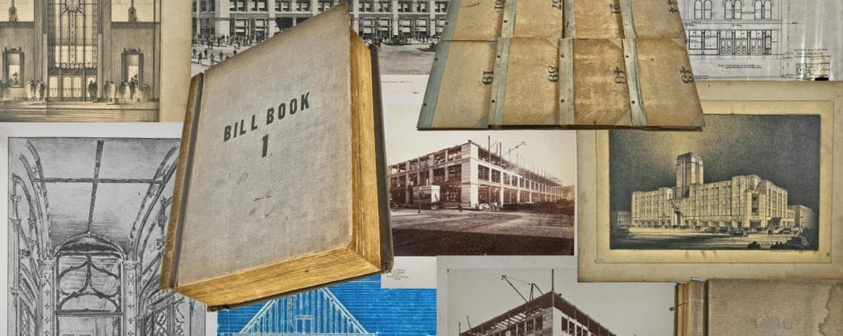 ephemera, photographs, drawings, and books from the architectural offices of jenney & mundie acquired by bldg. 51 museum