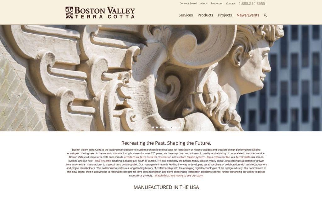 boston valley terra cotta factory visit