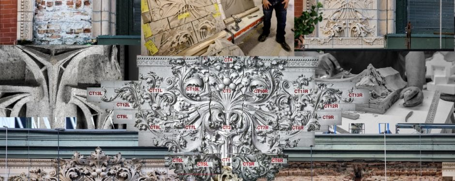 putting louis h. sullivan's gage building (1898) terra cotta facade back together again