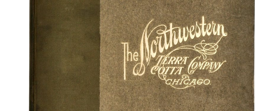 after 10 years of searching, bldg. 51 museum archive secures original 1910 northwestern terra cotta company catalog