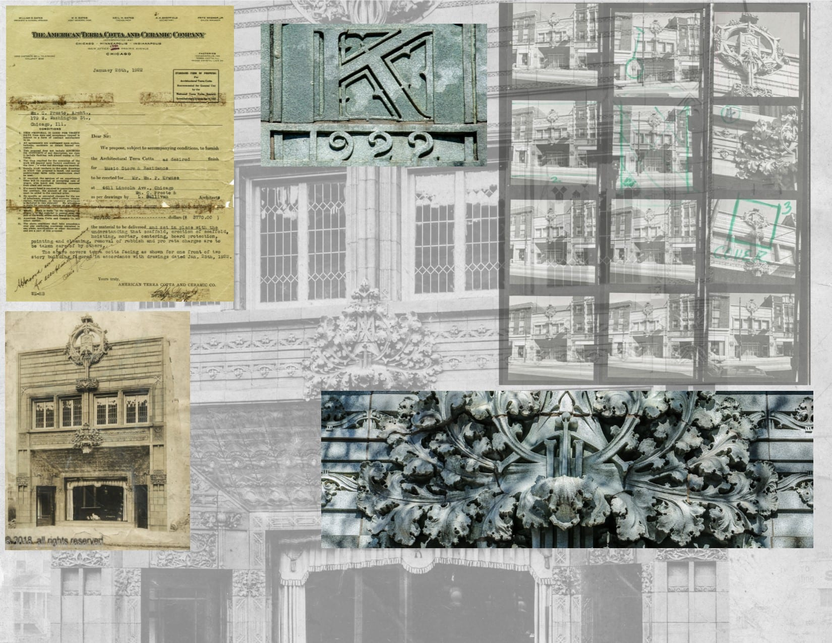 A Photographic Study Of Louis Sullivan S Last Commission Krause