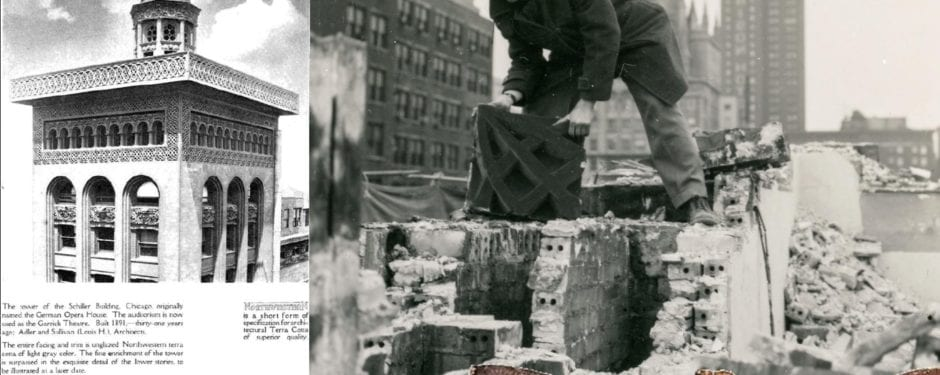 newly discovered images offer a closer look at richard nickel salvaging garrick theater