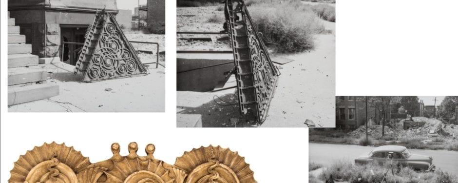 richard nickel's photographic documentation of samuel stern house salvage efforts