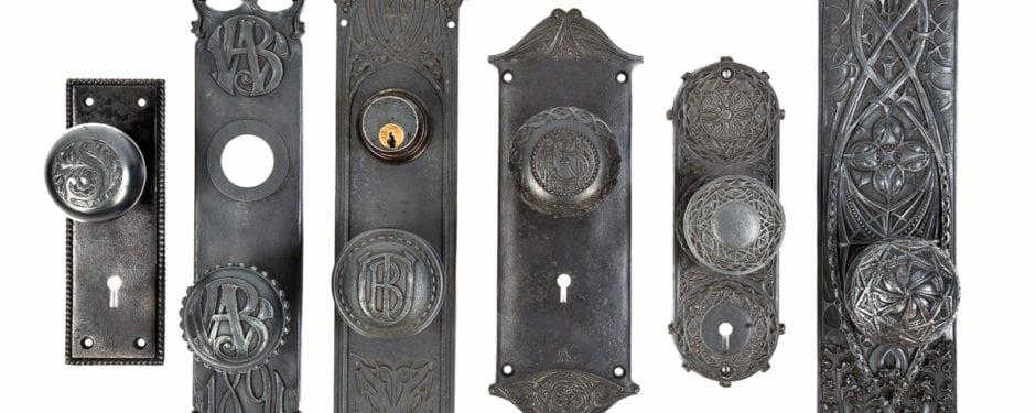 a photographic study of louis h. sullivan-designed building hardware